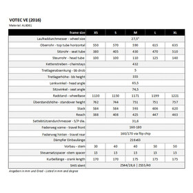 """VOTEC VE Pro - Enduro Fully 27,5"""" - dark grey matt/black matt"""